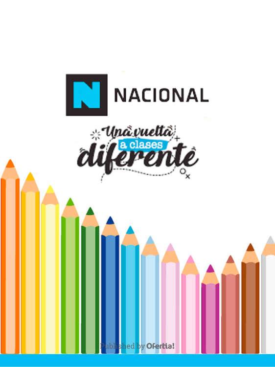 Ofertas de Librería Nacional, Una Vuelta A Clases Diferente