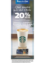 20% dcto. en Starbucks