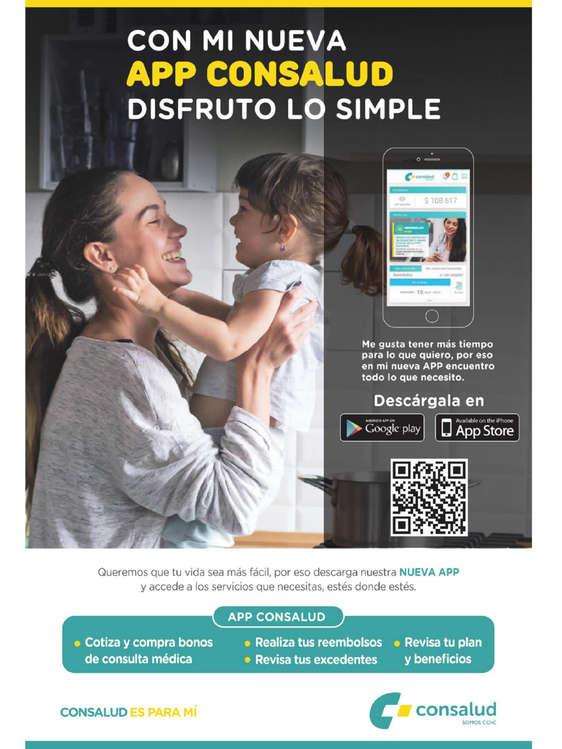 Ofertas de Consalud, App Consalud