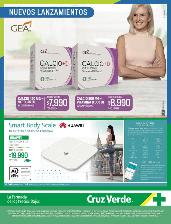 Ofertas de Cruz Verde, Dieta & Belleza