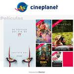 Ofertas de Cineplanet, Películas