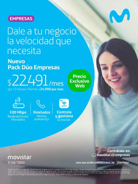 Ofertas de Movistar, Pack Dúo