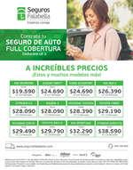 Ofertas de Banco Falabella, Seguros Falabella