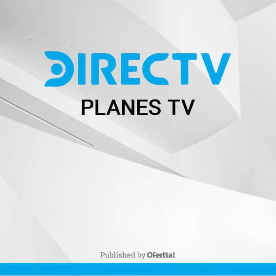 Ofertas de DIRECTV, Planes de TV