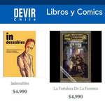Ofertas de Devir, Libros y cómics