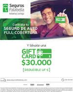 Ofertas de Banco Falabella, Gift Card