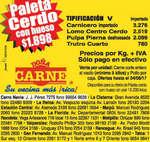 Ofertas de Doña Carne, oferta doña carne