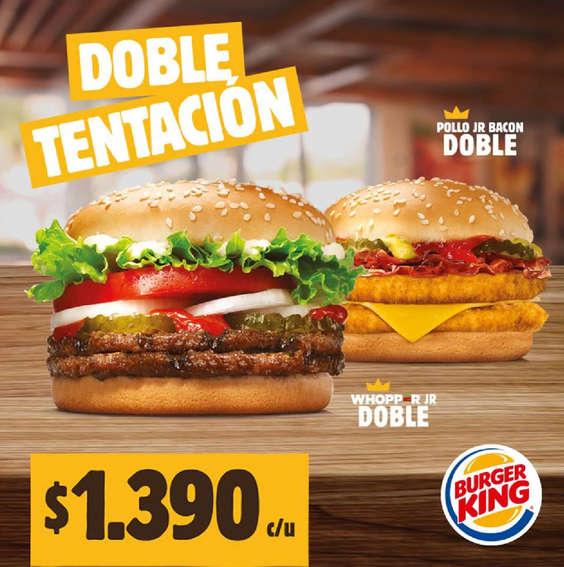 Ofertas de Burger King, Doble Tentación