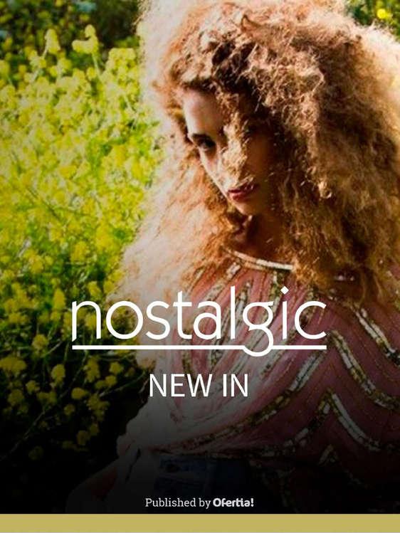 Ofertas de Nostalgic, New in