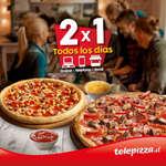 Ofertas de Telepizza, 2x1 todos los días