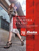 Ofertas de Bata, Colección Primavera Verano