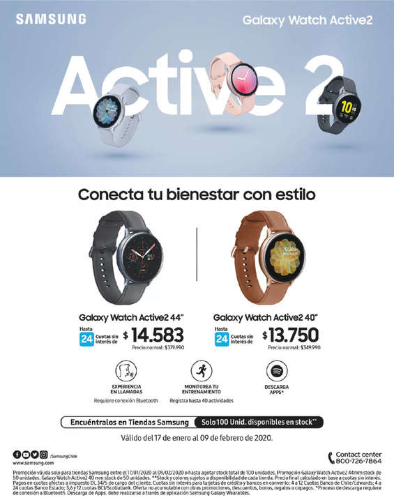 Ofertas de Samsung, Active 2
