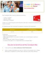 Ofertas de Scotiabank, Plan Scotiabank Mas