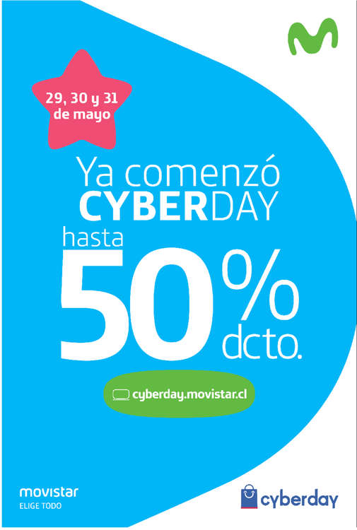 Ofertas de Movistar, ya comenzó cyber day