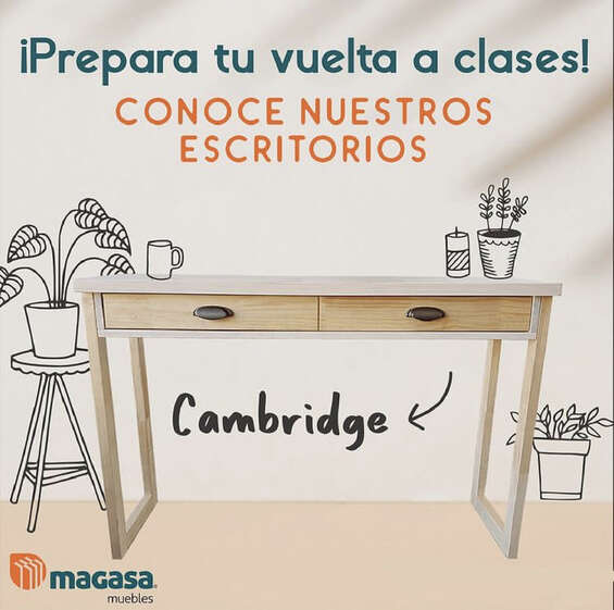 Ofertas de Magasa, Escritorios Cambridge