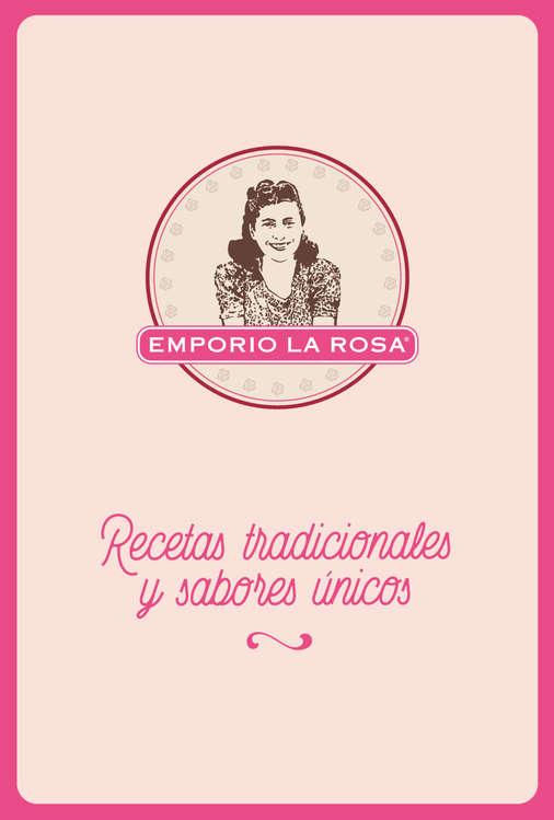 Ofertas de Emporio La Rosa, Menú