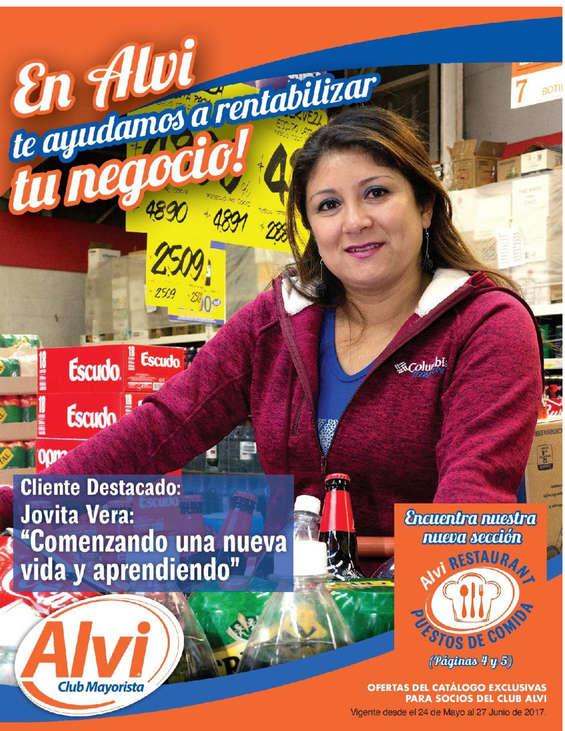 Ofertas de Alvi, Catálogo Mayo-Junio Alvi
