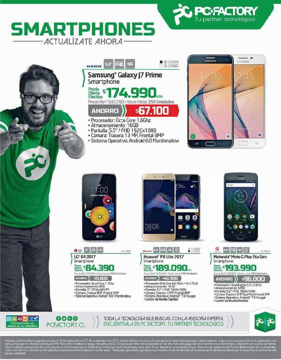 Ofertas de PC Factory, smartphones