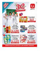 Ofertas de Unimarc, Catálogo 3x2