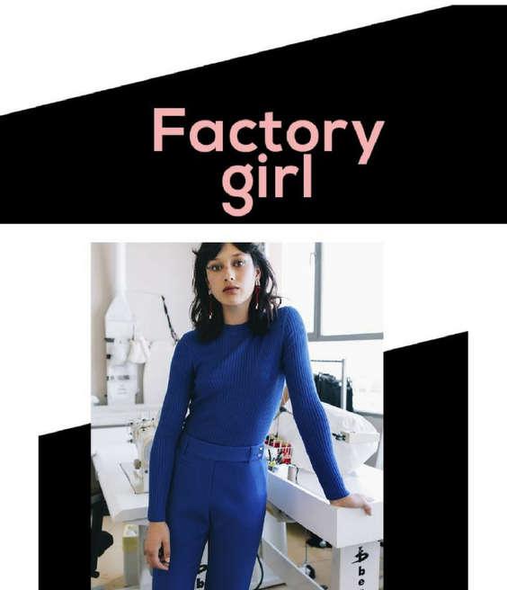 Ofertas de Adolfo Dominguez, Factory Girl