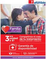 Ofertas de Farmacias Ahumada, Familia ahumada