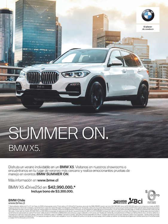 Ofertas de BMW, Summer On