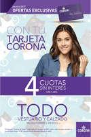 Ofertas de Corona, soluciones agosto